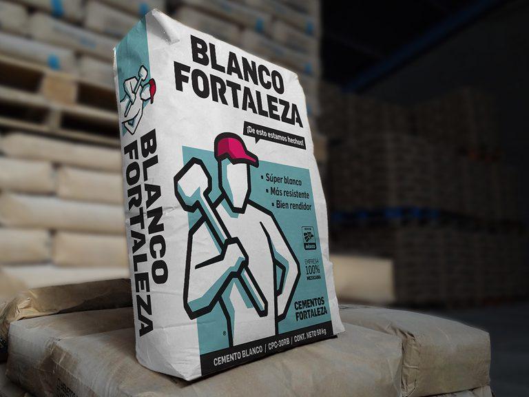 Cemento Fortaleza Blanco